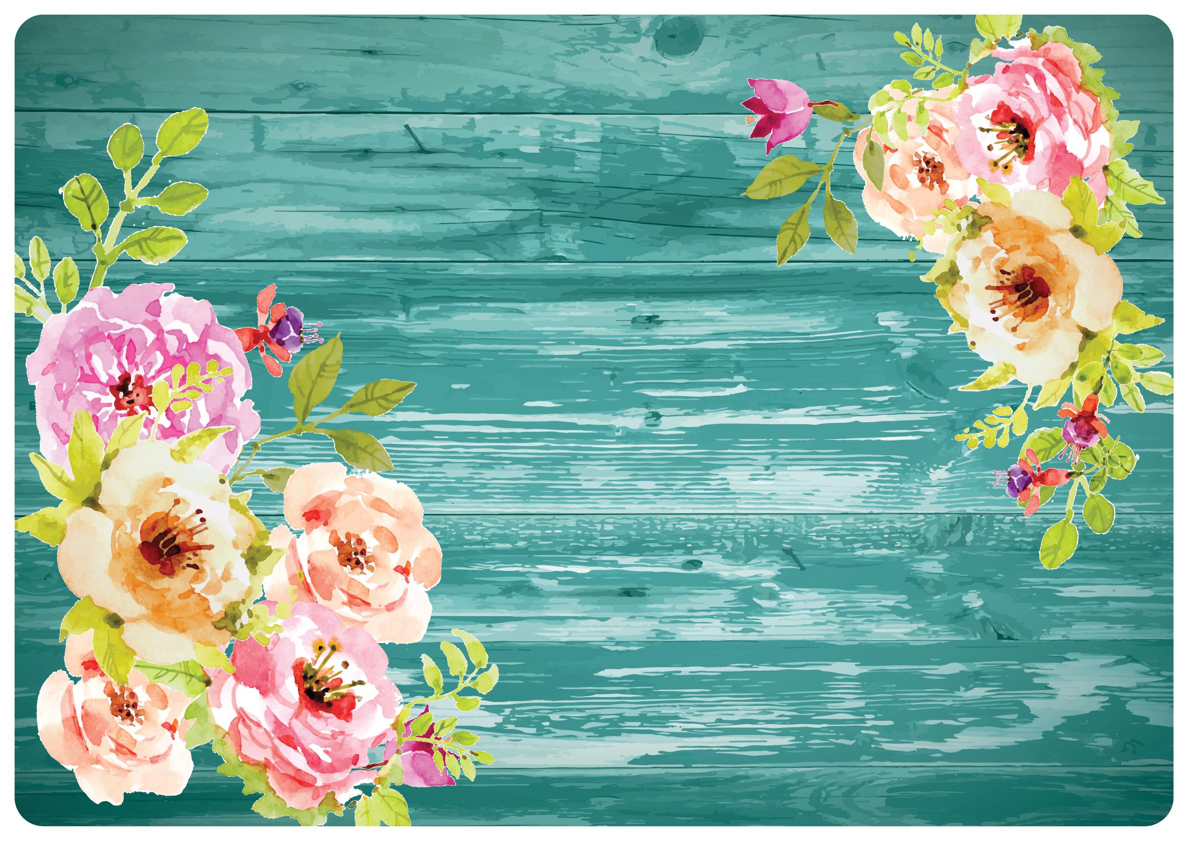 Mantel Flores Vintage Elementos Creativos